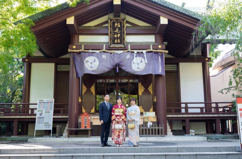 稲毛神社 写真2